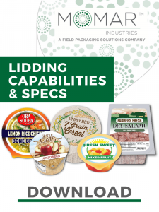 Download our lidding capabilities and specs sheet
